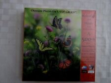 NEW SunsOut Butterflies and Thistle 500+ Oversize Piece Puzzle