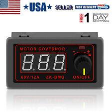 Motor Speed Controller Pwm Dc 12v 24v 60v 500w Adjustable Speed Regulator