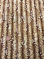 100% Cotton quilting Fabric Brown Tan Swirl Stripe Benartex Nature Scapes 3
