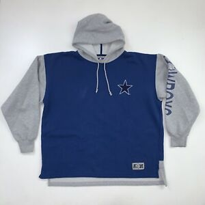 Vintage Starter Dallas Cowboys Hoodie Sweatshirt Size Men's XL NFL Football 90s