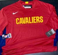 Nike Cleveland Cavaliers T-Shirt Basketball NBA Team Issued AV0927-677 XL Tall