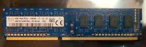 SK Hynix 4GB PC3L-12800U DDR3-1600 Desktop RAM Memory