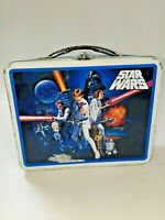 Vintage Star Wars A New Hope Metal Kids Lunchbox 2008 Collectible Lucasfilms GUC