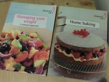 x2 Diabetes UK Information & Cook Books HOME BAKING & MANAGING YOUR WEIGHT