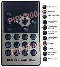 Ir Remote For Surveillance Video Processor Pipv2 Pipv200 Pipv4 Multiplexer
