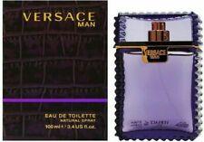 Versace Man men's EDT spray 3.4 oz/100 ml Sealed(Plus 1 surprise perfume free)