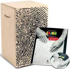 Schlagwerk CP 107 X-One Fingerprint + Cajon Lehrbuch Rhythmusschule inkl. CD
