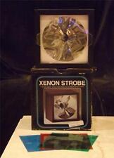 MIB Variable Speed Xenon Strobe Red Green Blue Lenses Rock Video Series