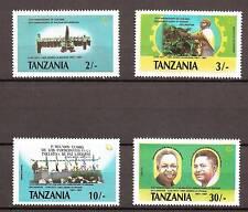 Tanzania - 1987 - Mi. 395-98 (Revolutie) - Postfris - MO022