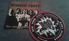 CD AGNOSTIC FRONT - THE BEST OF - TO BE CONTINUED / TOP