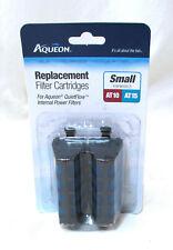Aqueon QuietFlow Filter Cartridge Replacement 2Pack AT10 AT15 Tank Aquarium.New