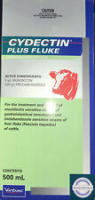 CYDECTIN PLUS FLUKE POUR-ON FOR CATTLE 500ML (Moxidectin & Triclabendazole)