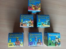 Carcassonne Minis fly messenger ferry gold mine mage witch robber crop circles