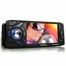 "AUTORADIO CON DISPLAY LCD 4,3"" BLUETOOTH SD+USB=256GB MP3 AUX 1DIN DIN SENZA CD"
