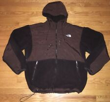 The North Face Bittersweet Brown Hooded Multi Zipper Denali Jacket Mens 2XL