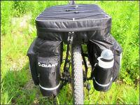 2018 New Cycling Bike Bicycle Rear Rack Seat Pannier Bag Waterproof + Rain Cover