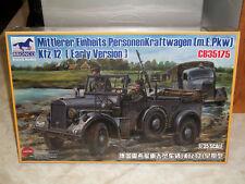 Bronco 1/35 Mittlerer Einheits Personenkraftwagen (m.E.Pkw) Kfz 12 Early Version