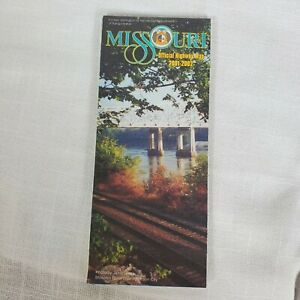 Missouri official highway map 2001-2002