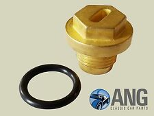 TRIUMPH TR7, TR8 THERMOSTAT HOUSING BRASS FILLER PLUG & O-RING KTP9401
