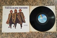 THE BEST OF MCGUIRE SISTERS, DELUXE 2-RECORD SET, MCA RECORDS LP, 1980