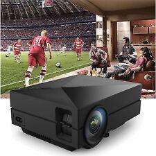 1000 Lumens 1080p HD LED Projector Mini Home Theater Cinema HDMI USB VGA AV SD