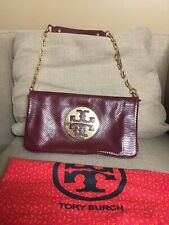 TORY BURCH REVA CLUTCH with Gold Chain