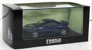 1:43 Scale Model 2012 Toyota 86 Blue Ebbro Diecast Car GT86 Subaru BRZ