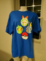 Pokemon Sword and Shield Starters T-Shirt New with Tags (XL) New