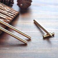 Superfine Brass Pen Office Supplies Ballpen Writing Stationery Copper