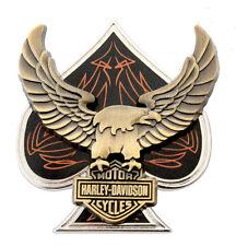 HARLEY DAVIDSON eagle spade barshield HARLEY  PIN