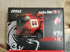 MSI 970 GAMING MOTHERBOARD and FX-8320 CPU WITH I/O SHIELD AND COOLER