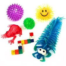 Sensory Toy Pack Includes 6 Fun Toys - Fiddle Fidget Stress Sensory Autism ADHD