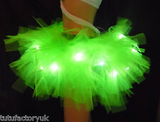 NEON PINK TUTU LIGHT UP TUTU BRIDE TUTU HEN NIGHT NEON FANCY DRESS FAIRY RAVE