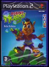 PS2 Agent Hugo Hula Holiday, UK Pal, Brand New & Sony Factory Sealed