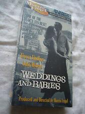 WEDDINGS AND BABIES 1958 Morris Engel Viveca Lindfors NTSC VHS SMALL BOX
