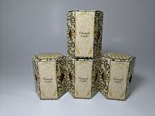 Tyler Candle Company Pineapple Crush 2oz Votive Candle Lot of 4