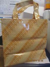 Non più disponibile HARRODS ORO GLITTERATE Piccola Shopping Tote Bag