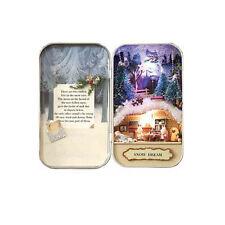 Dollhouse Snow Dream Vol 3 Miniature Theater with LED Lamp DIY Kits Box