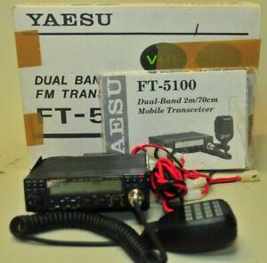 Yaesu FT-5100 Dual Band VHF/UHF Mobile Transceiver