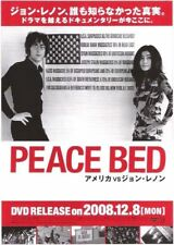 John Lennon (BEATLES) Peace Bed 2008 ORIGINAL JAPANESE POSTER size: 10x7 inches