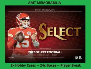 Tua Tagovailoa Dolphins 2020 Panini Select 2X HOBBY CASE 24X BOX BREAK #7