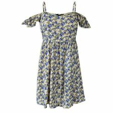 New Look Round Neck Floral Mini Dresses for Women