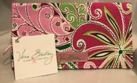Vera Bradley Retired Pinwheel Pink Checkbook Cover With Tags