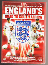ENGLAND'S ROAD TO SOUTH AFRICA - 2 DISC COLLECTOR'S EDITION - NEW SEALED R2 DVD