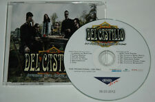 CD/DEL CASTILLIO INFINITAS TOUR 2012/PROMOTION MUSTER CD NOT FOR SALE