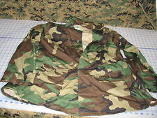 US GI military womens maternity summer rip-stop bdu woodland camo top 14R