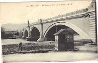 26 - cpa - VALENCE - Le nouveau pont sur le Rhône