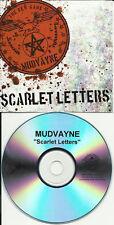 MUDVAYNE Scarlet Letters TST PRESS PROMO DJ CD Single