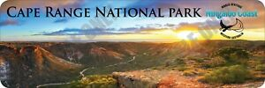 Cape Range National Park - Ningaloo Coast Bumper Sticker