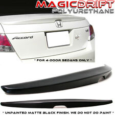 2008-2012 Honda Accord 4 Door Sedan Factory OE Rear Trunk Spoiler Wing Ducktail